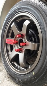 Te37 used sport rims 4
